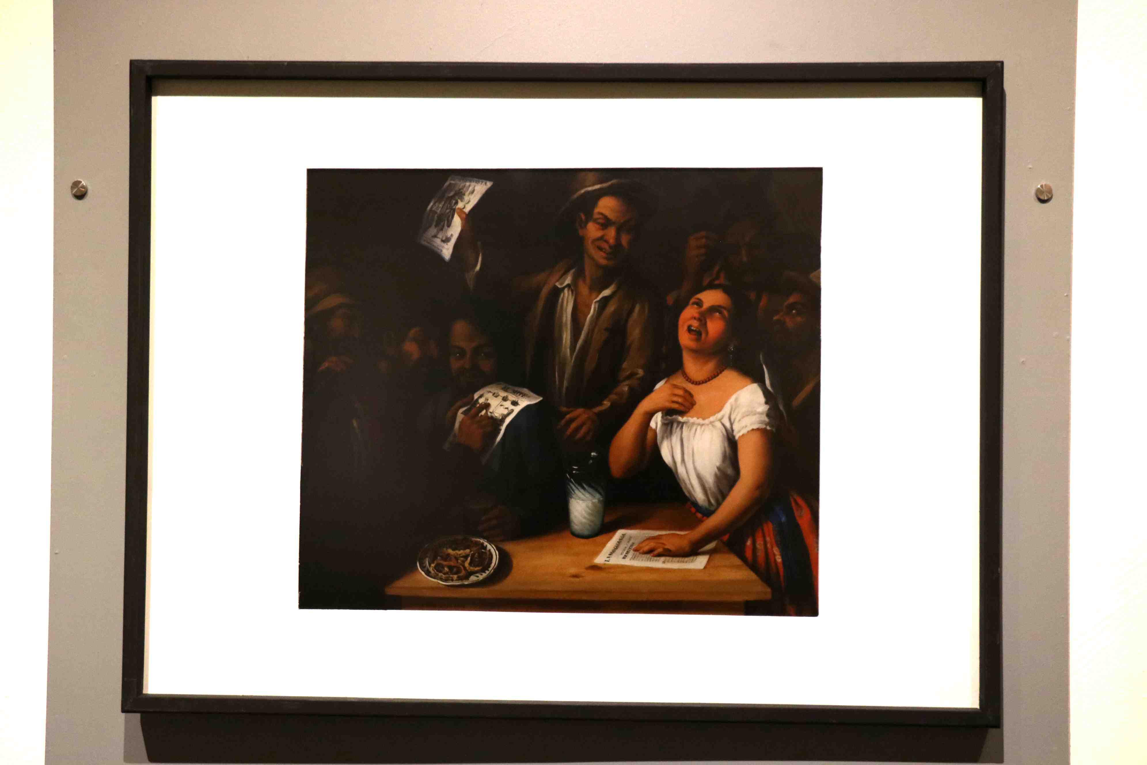 Exponen obra de Arrieta en el Museo UPAEP