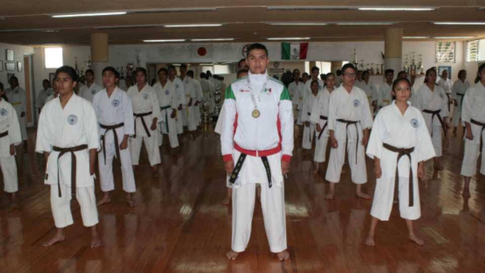 Estudiante BUAP, campeón de karate en Olimpiada Nacional 2019
