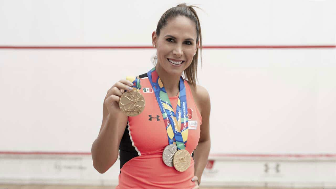 El Squash le da la despedidad a la mexicana Samantha Terán