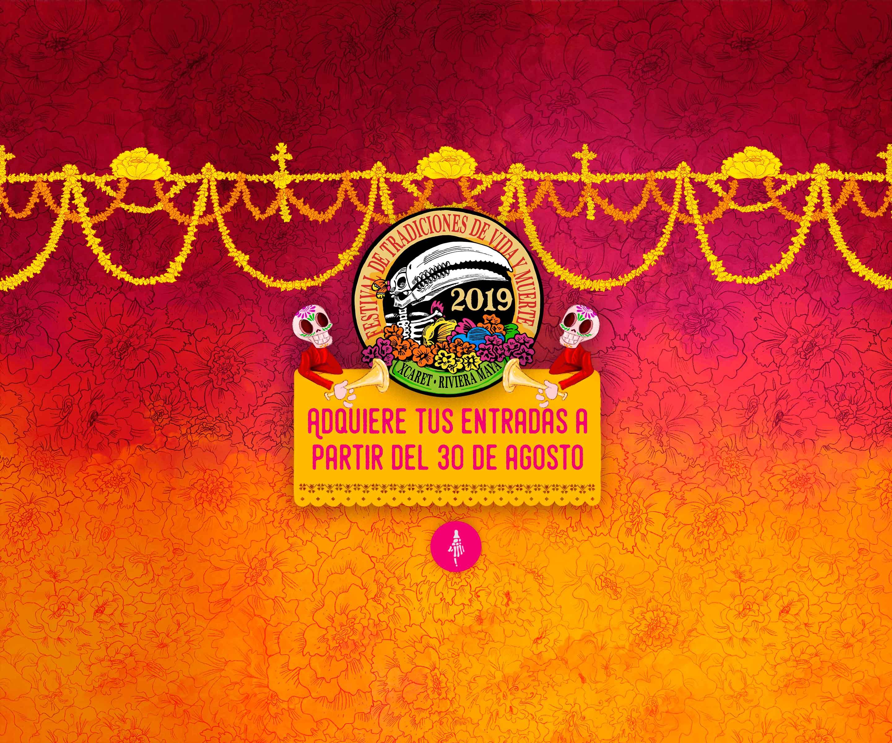 Grupo Xcaret prepara el 14° Festival de Tradiciones de Vida y Muerte 2019