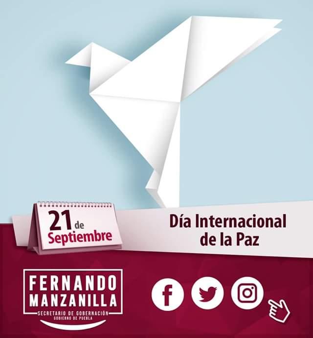 Fernando Manzanilla – Día Internacional por la Paz