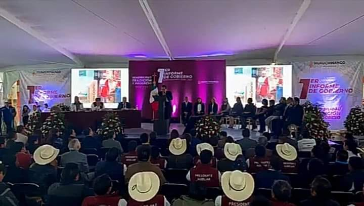 """El  """"tan esperado"""" 1° informe del presidente Gustavo Vargas"""