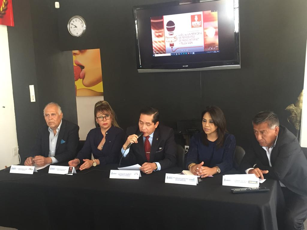 La Asociación Mexicana de Periodistas de Radio, Internet y Televisión, Capítulo Puebla (AMPRIYT PUEBLA)