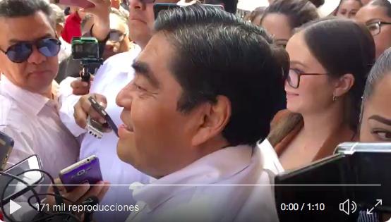 Lo que dijo  Miguel Barbosa  respecto a la muerte de Martha Ericka y Moreno Valle