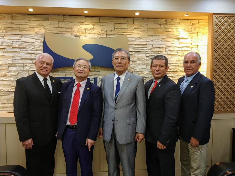 Corporación Gámez, felicita al Gran Máster Choi Young Ryul como presidente electo