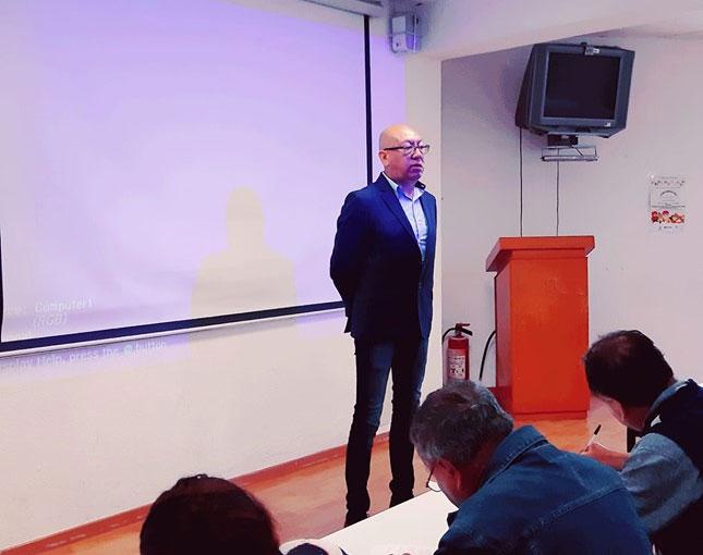 Jimmy – Invitacion como instructor en el curso De Formacion de Radios Comunitarias