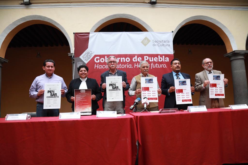 Presenta Secretaría de Cultura Programa por la Conmemoración del V Centenario de la Conquista