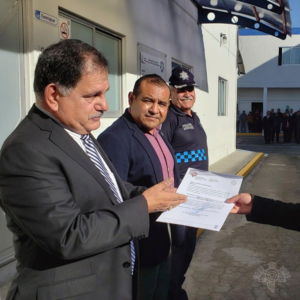 Renueva Policía Auxiliar comité de la norma de igualdad laboral y no discriminación
