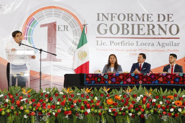 Tlatlauquitepec será una de las 32 regiones del estado: Barbosa Huerta