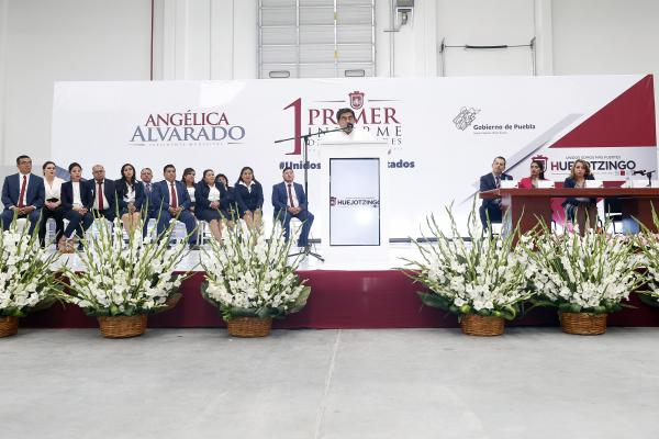Traemos más seguridad e infraestructura a Huejotzingo: Barbosa Huerta