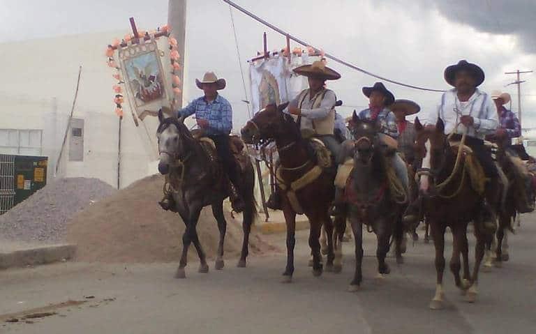Las cabalgatas en México