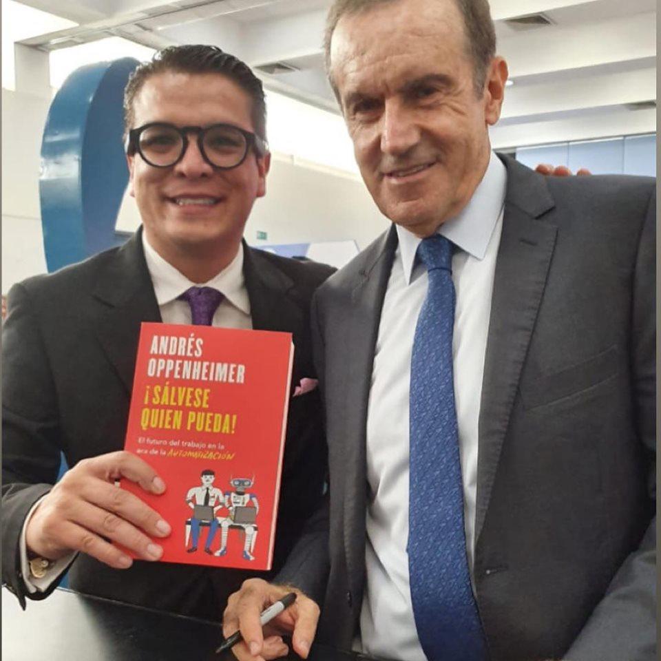 Gerardo Islas Maldonado : Gran conferencia de @andresoppenheimeroficial y su libro  ¡ Sálvese Quien Pueda !