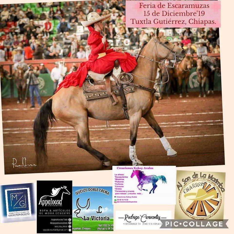 Feria de Escaramuzas 15 de diciembre de 2019 – Tuxtla Gutierrez Chiapas