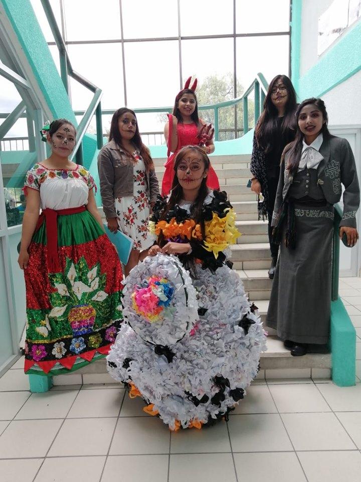 Se disfrazaron de acuerdo a la fecha conmemorativa TecTepeaca