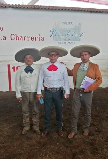 Locutores Charros Narrando las Charreadas del Congreso Nacional 2019 en Michoacan