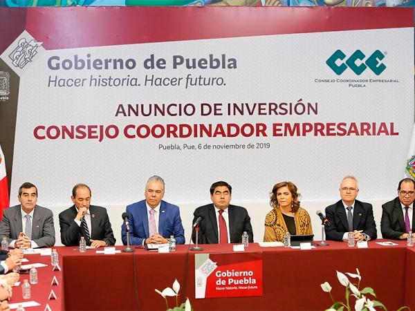 Prepara Miguel Barbosa camino para atraer y consolidar inversiones en el estado