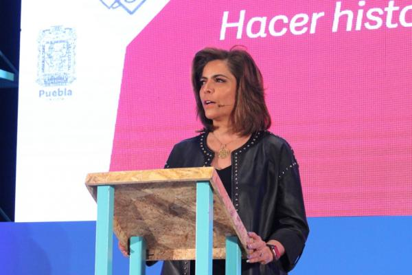 Construir los cimientos para el cambio, la meta del gobierno de Puebla: Olivia Salomón