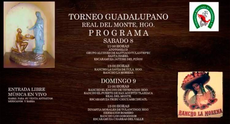 Torneo Guadalupano , Real del Monte, Hidalgo