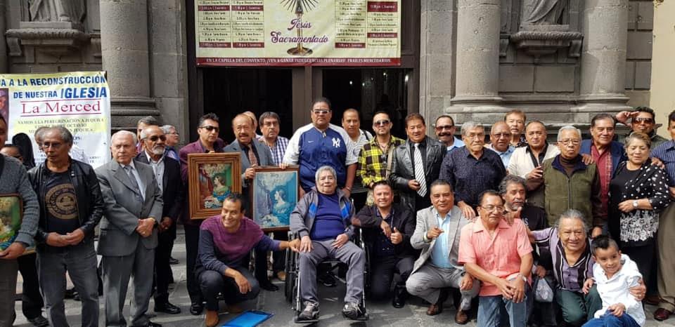 La Unión Agustin Lara ofrecio misa de acción de gracias a Santa Cecilia Patrona de los Músicos