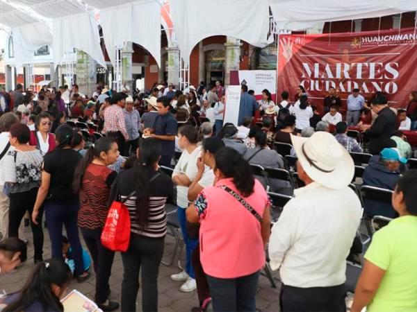 Cara a cara, gobierno atiende planteamientos de la gente, con Jornadas de Atención Ciudadana.
