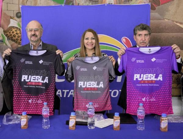 Presentan Maratón Internacional de Puebla 2019 en la CODEME