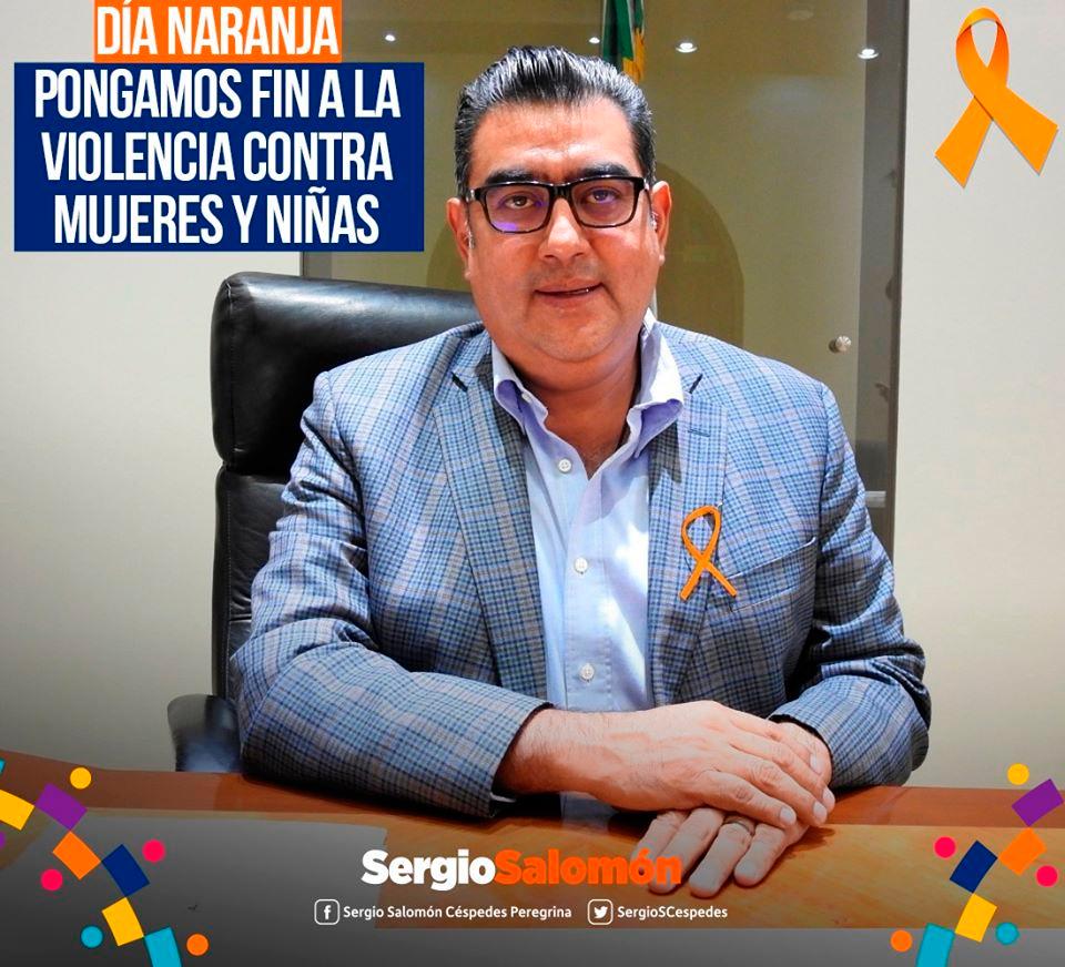 Día Naranja en Tepeaca -Sergio Salomón Céspedes Peregrina