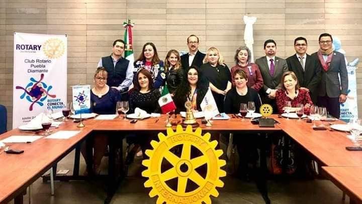 Interesante ponencia impartida por la Magistrada Margarita Gayosso Ponce Club Rotary