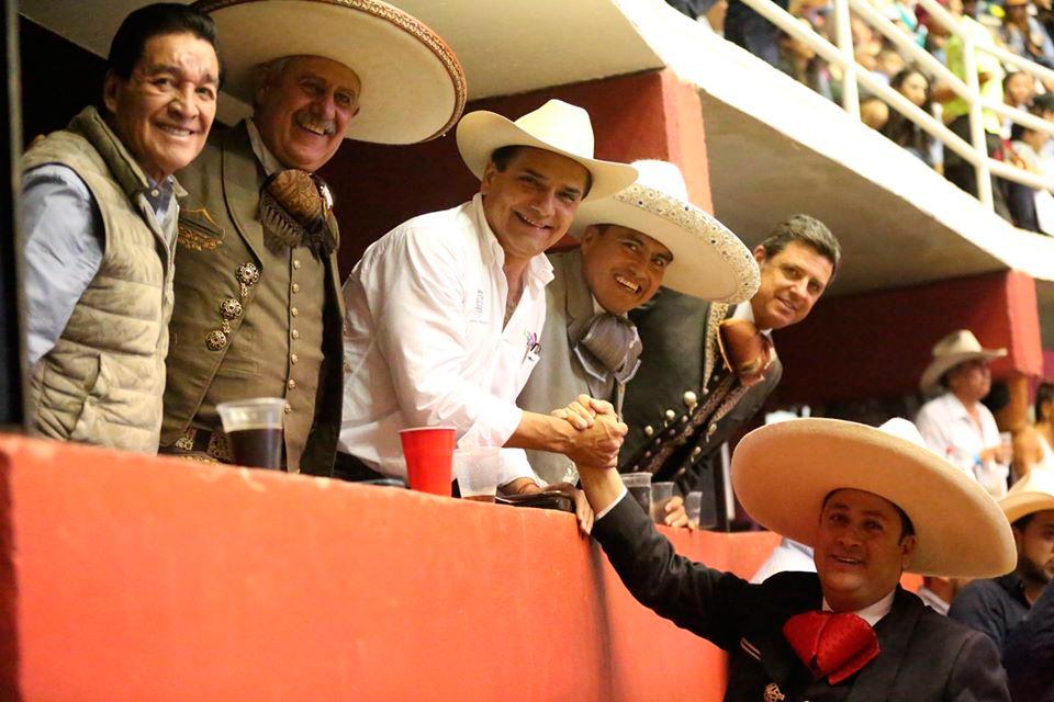 Toño Robles, Felicitado por el Gobernador de Michoacán por su labor en la Locución en el Nacional de Morelia 2019