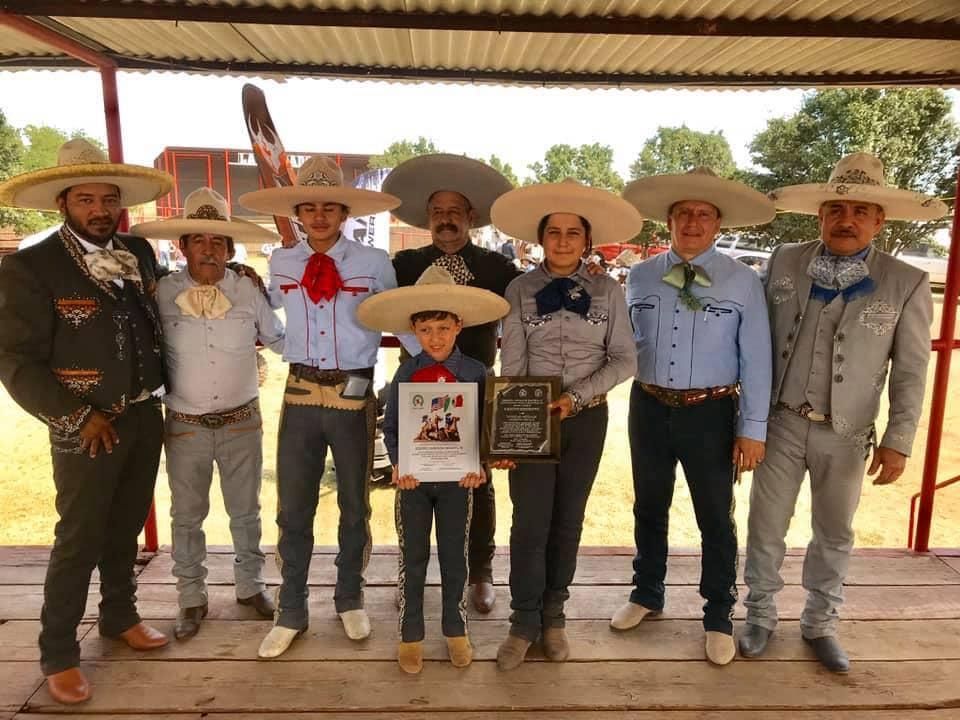 Premiación V Campeonato Nacional Charro Infantil Juvenil y de Escaramuzas