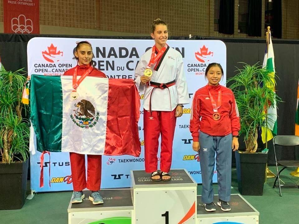 Victoria Aguirre Berlanga, obtuvo en Octubre 2019 la medalla de plata en la modalidad de style y la medalla de Bronce en Poomsae