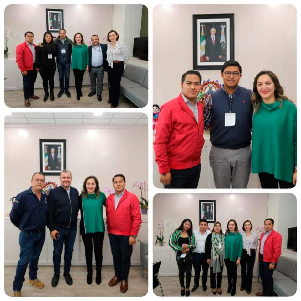 Reunión con los alcaldes de Ocuilan , Jocotitlán,  VillaDelCarbón y Chiconcuac
