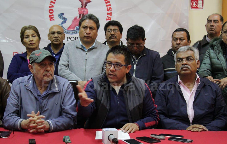 Movimiento Antorcha Campesina Puebla hara movilizaciones e incluso judicializará la determinación del INE al no otorgarles  el registro como partido político