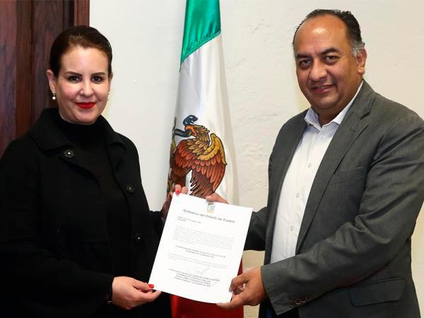 Ana Lucía Hill, nueva coordinadora de Protección Civil Estatal