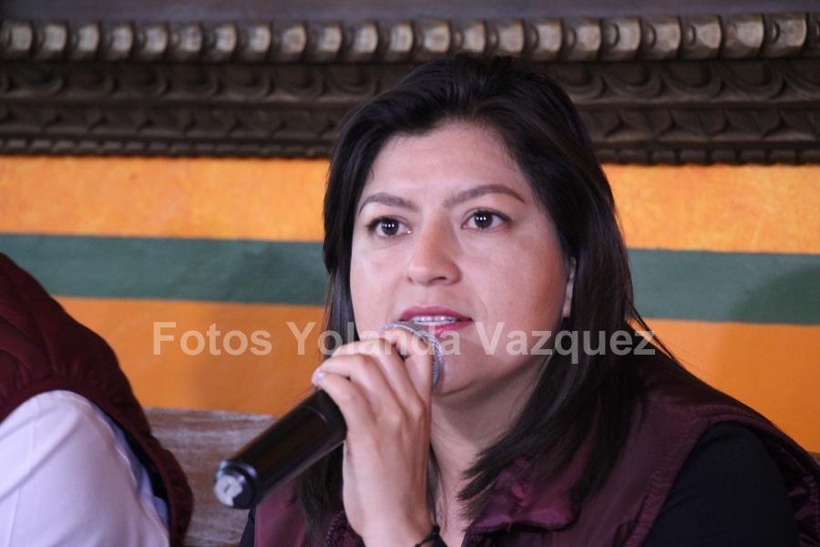 En el ayuntamiento de Puebla no se ha dejado de trabajar en el tema de la delincuencia y con ello se espera que este mejore: Claudia Rivera