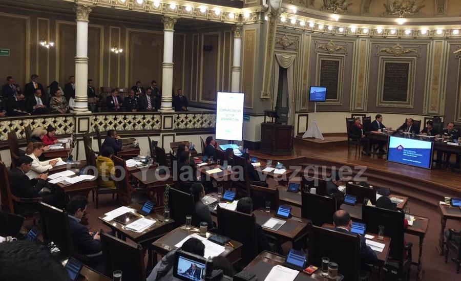 Durante su comparecencia en la glosa del informe del gobernador en el congreso del Estado el Secretario deGobernación dio a conocer creación de Comisión de la Violencia aVíctimas.