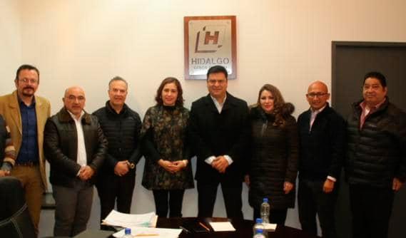 El Secretario de Sedeso de Hidalgo se reunio con su equipo de trabajo para dar continuidad a las estrategias a ejecutar este año 2020