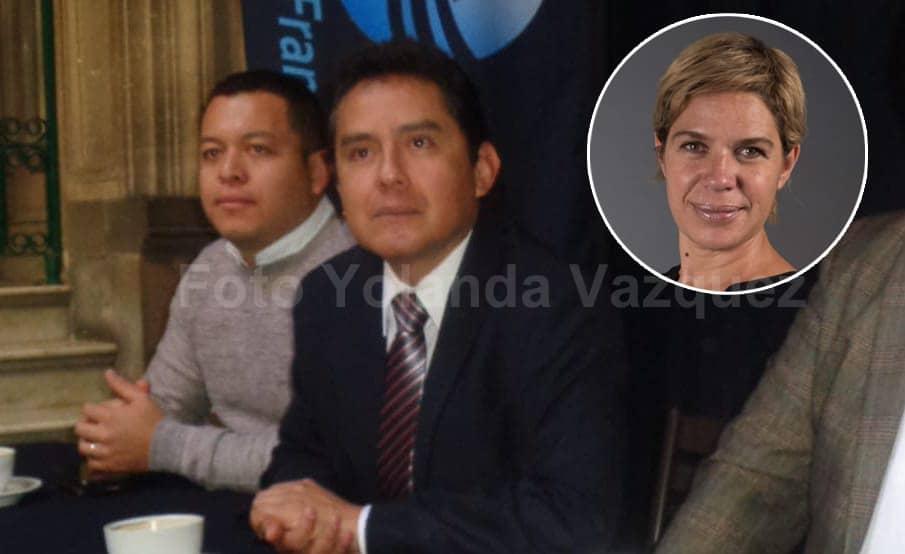 Franquicias pide a Claudia Rivera la salida de Movilidad de Alejandra Rubio Acle por el tema de los bolardos