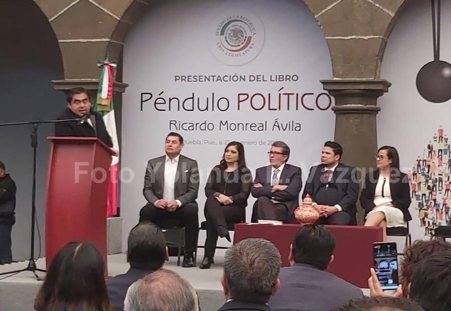 Si Esparza Ortiz tomo la determinación de apoyar a ciudadanos que no acepten el reemplacamiento es su determinación: Luis Miguel Barbosa