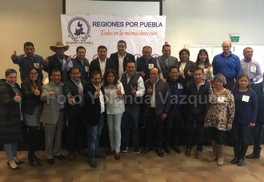 El Grupo Regiones por Puebla del PANda su apoyo a las dirigencia tanto estatal como nacional en cuanto a lo que determinen y piden a panistas que no han trabajado abstenersede opinar