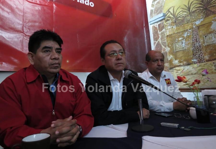 PT hace un llamado al Gobierno Estatal a corregir acciones a fin de estar a la altura del proyecto de nación encabezado por AMLO