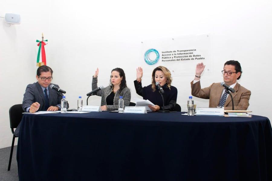 Sesiona ITAIPUE a favor de la Transparencia