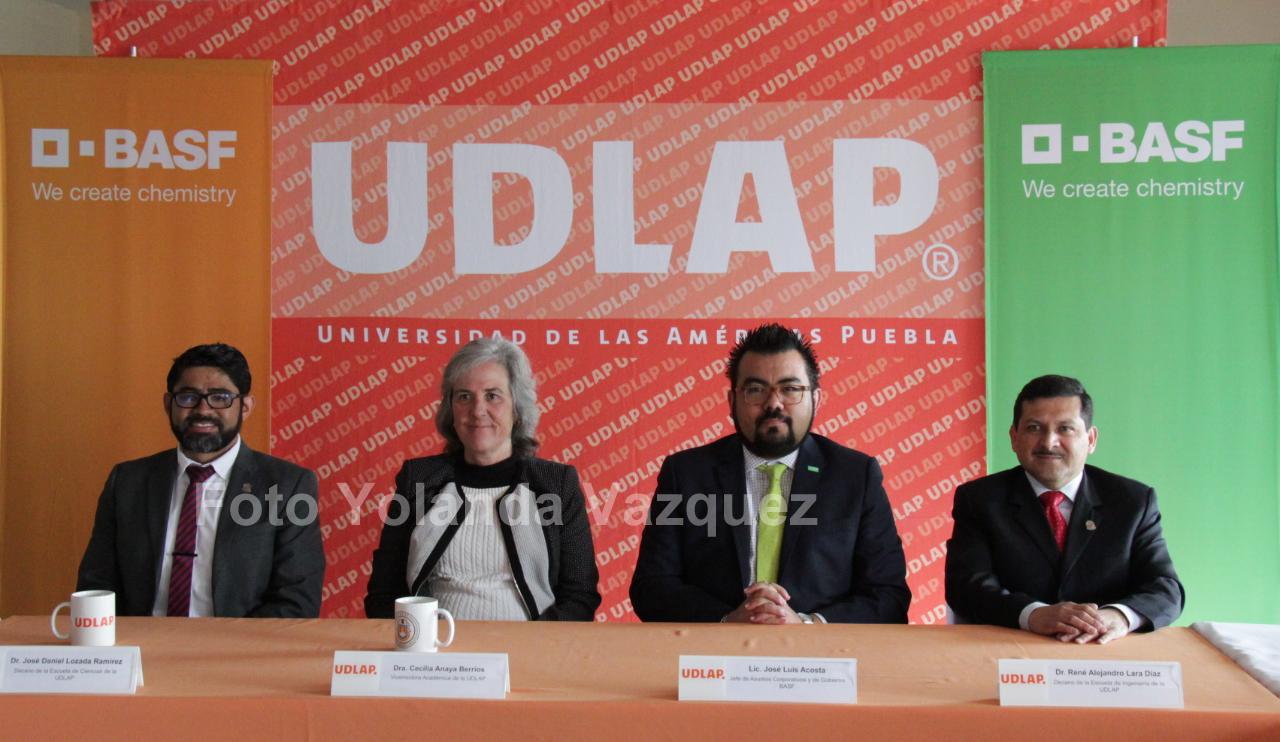 UDLAP yla empresa BASFdan a conocerConvocatoria para el premio universitario Construyendo Soluciones Sustentables