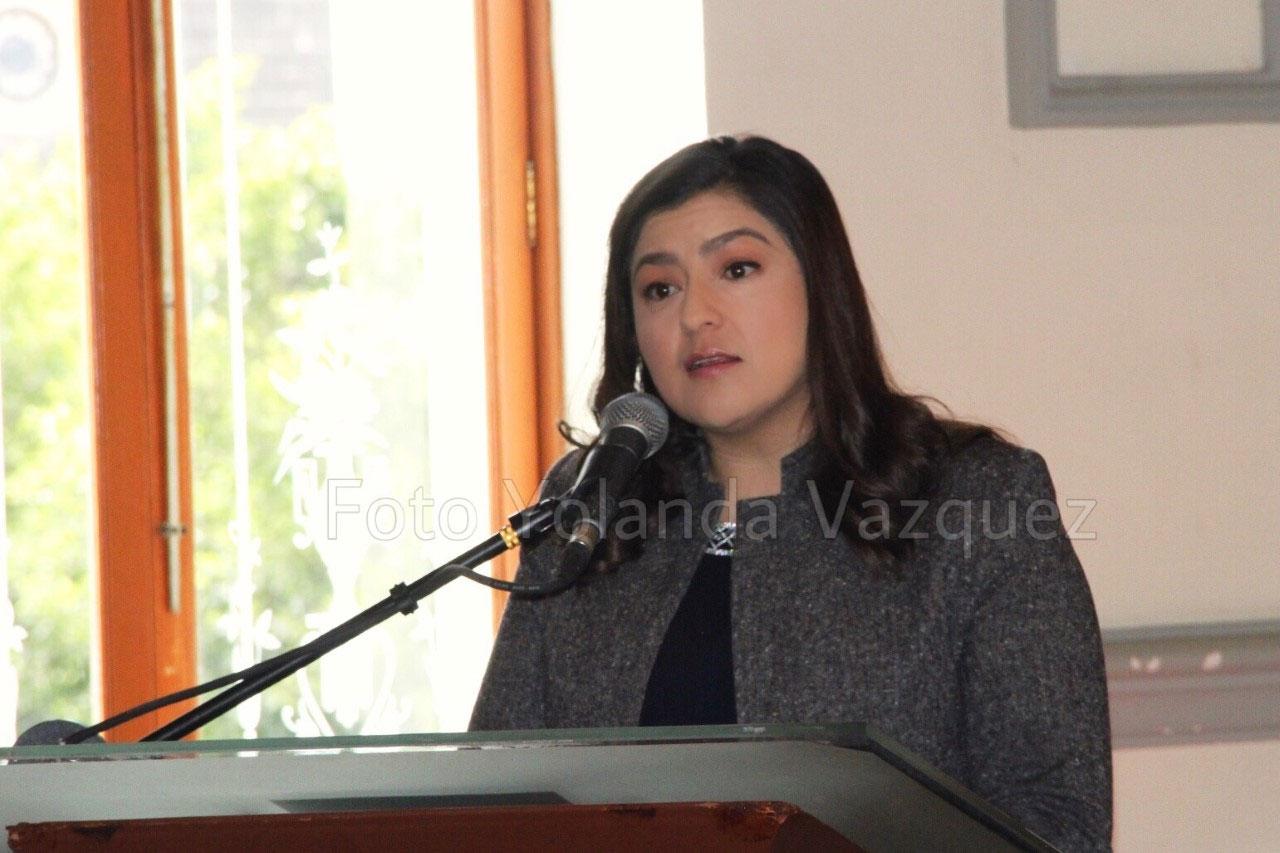 Aun no se tiene fecha entre gobierno estatal y municipal para la firma de convenio en el tema de seguridad: Claudia Rivera