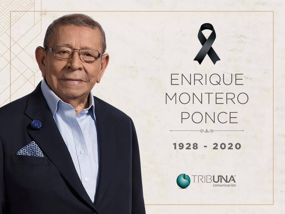 Muere don Enrique Montero Ponce