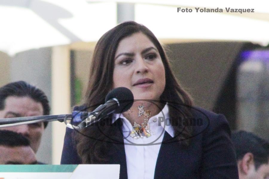 Claudia Rivera presentara al Congreso esta semana una serie de iniciativas con la finalidad de dar protección a los derechos y seguridad de las mujeres