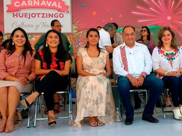 Preside David Méndez edición 152 del tradicional Carnaval de Huejotzingo