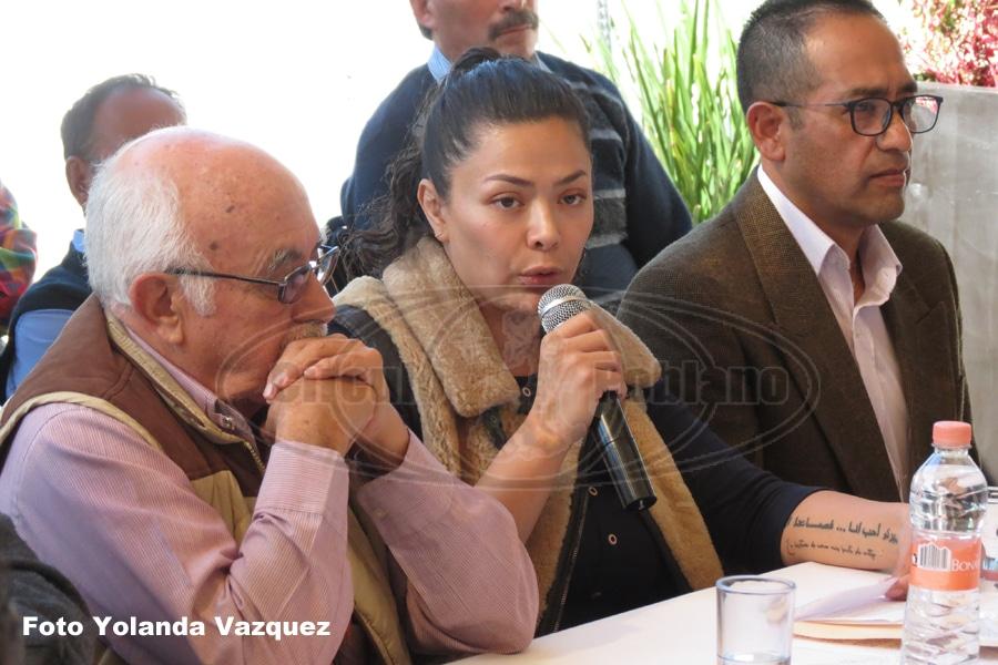 Hacen la presentación de Movimiento Poblano por la 4T del Municipio de San Martin Texmelucan