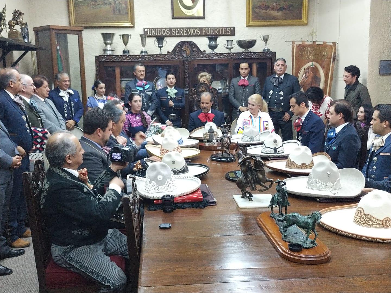 Nuevo presidente de La Nacional de Charros Ing.Fernando Rodriguez Medellin