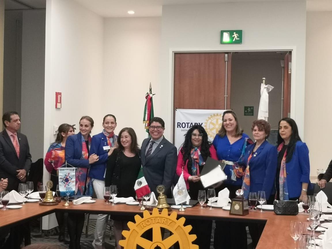 Llevo a cabo el Club Rotario Puebla Diamante su Sesión inter Clubes