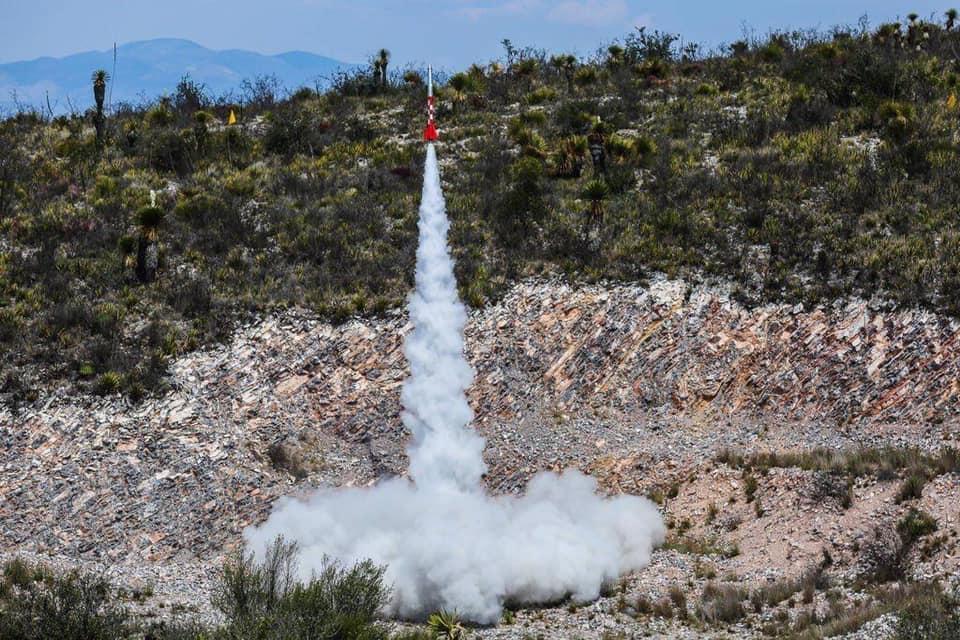 En San Luis Potosí, lanzan el primer Cohete Espacial